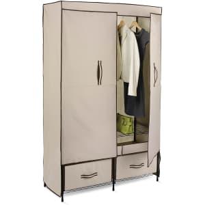 Honey Can Do Portable Wardrobe Storage Closet for $72