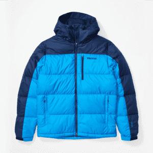 Marmot Men's Guides Down Big & Tall Full-Zip Hoody Jacket for $120
