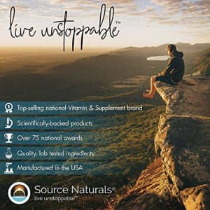 Source Naturals Vitamin B-1 Thiamin 500mg High Potency, 100% Pure - 100 Tablets for $17