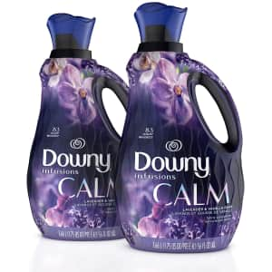 Downy Infusions 56-oz. Liquid Fabric Conditioner 2-Pack for $9.65 via Sub. & Save