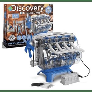Discovery Kids Mindblown STEM Model Motor Engine Kit for $20