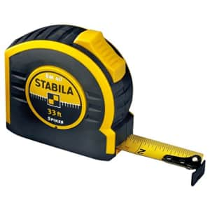 Stabila Inc. Stabila 30333 Type BM40 33' Tape Measure for $20