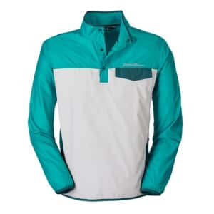 Eddie Bauer Men's Momentum Snap Mock Pullover for $33