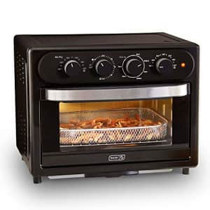 DASH DAFT2300GBBK01 Chef Series 7 in 1 Convection Toaster Oven Cooker, Broiler + Electric Air Fryer for $195