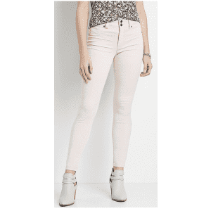 Maurices Women's High Rise Jeggings Made With Repreve for $17