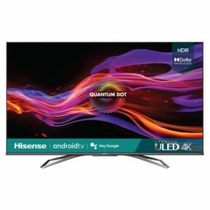 "Hisense U8G Series 55U8G 55"" 4K HDR ULED UHD Android Smart TV (2021) for $789"