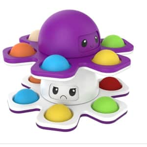 Eahthni Pop Bubble Fidget Spinner 2-Pack for $7