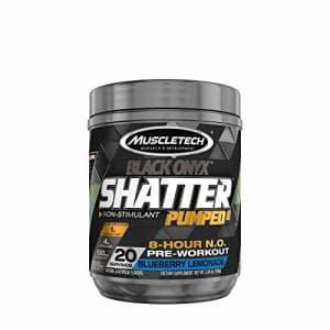 MuscleTech Shatter Pumped 8 Black Onyx - Blueberry Lemonade for $34