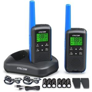 Gocom Walkie Talkie Two-Way Radio Set for $43