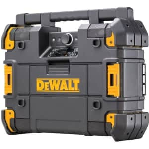 DeWalt TSTAK Portable Bluetooth Radio w/ Charger for $201