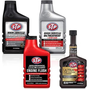 STP Fuel System Cleaner 4-Piece Kit for $26