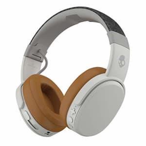 Skullcandy Crusher Wireless Over-Ear Headphone - Gray/Tan (Renewed) for $62