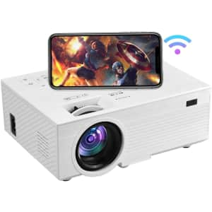 Oseven 1080p WiFi Mini Projector for $95