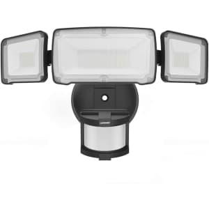 LePower 35W 3-Head Motion Sensor LED Outdoor Security Light for $32