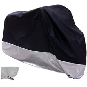 Xyzctem All Season Motorcycle Cover for $13