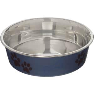 Loving Pets Metallic Bella Bowl Dog Bowl for $9