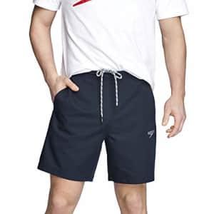 Speedo Men's Shorts Mid Length Team Warm Up for $40