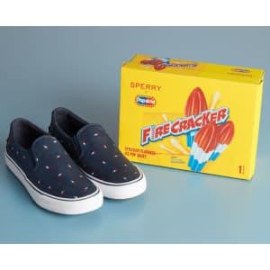 Sperry x Popsicle Firecracker Men's Striper II Twin Gore Sneakers for $19