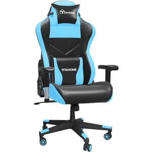 Yitahome Big & Tall Massage Gaming Chair for $100