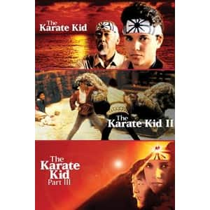 Original Karate Kid Collection in HD: $5.99