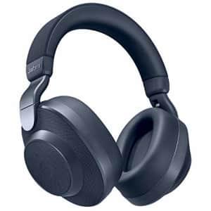 Jabra Elite 85h Wireless Noise-Canceling Headphones, Navy Over Ear Bluetooth Headphones Compatible for $334