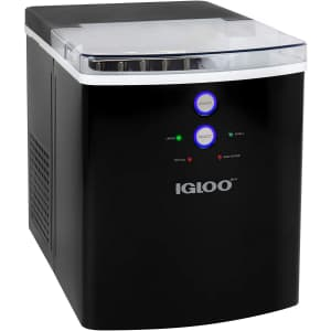 Igloo 33-Lb. Automatic Countertop Ice Maker Machine for $140