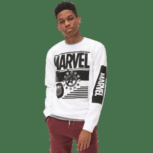 Aeropostale Men's Marvel Avengers Crew Sweatshirt for $20