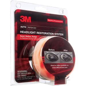 3M Headlight Lens Restoration System for $12