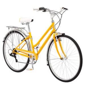 Schwinn Wayfarer Adult Bike Hybrid Retro-Styled Cruiser, 16-Inch/Small Steel Step-Through Frame, for $310
