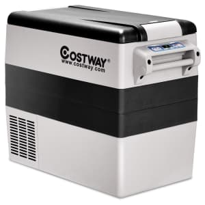 Costway 55-Quart Portable Thermoelectric Car Cooler for $285