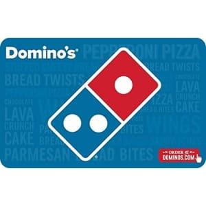 $30 in Domino's Gift Cards: $25