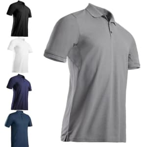 Fit Men's Quick-Dry Polo Shirt: 2 for $25