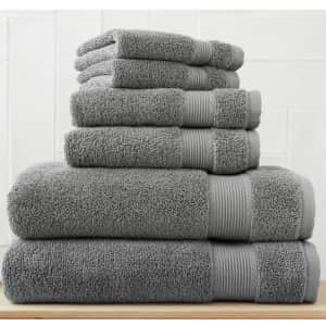 StyleWell 6-Piece Hygrocotton Towel Set for $20