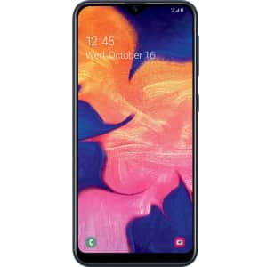 Samsung Galaxy A10e 32GB Android Phone w/ 1-Year Tracfone for $90