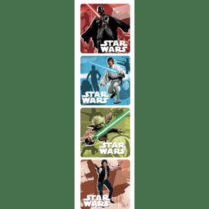 """SandyLion Star Wars Saga 250-Count 2.5"""" Sticker Roll for $6"""