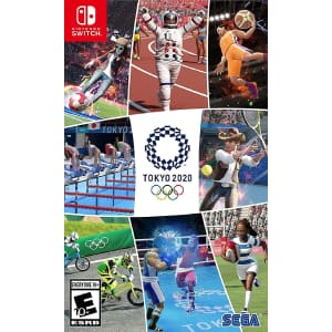 Tokyo 2020 Olympic Games for PS4, Xbox Series X, or Nintendo Switch for $30