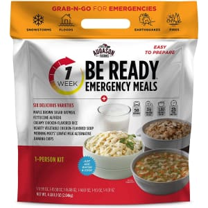 Augason BE Ready 1-Week Emergency Food Supply for $30