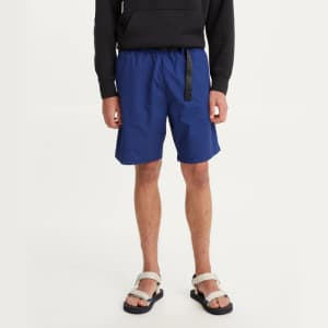 Levi's Men's Belted Utility Shorts for $15