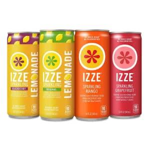 IZZE Sparkling Juice Mango Variety 24-Pack for $10 w/ Prime