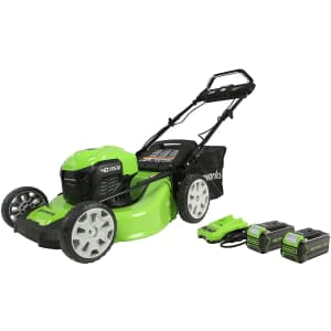 "Greenworks 40V 21"" Self Propelled Lawn Mower for $436"