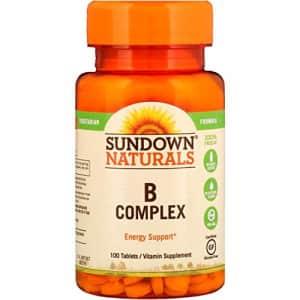 Sundown Naturals B-Complex Tabs, 100 Count for $5