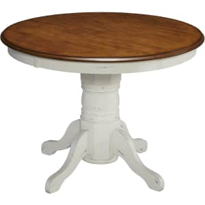 """Home Styles French Countryside 42"""" Pedestal Dining Table for $235"""