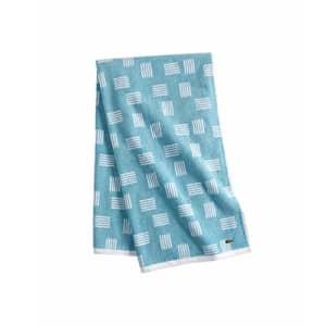 """Lacoste Raster 100% Cotton Towel, 30"""" W x 54"""" L Bath, Celestial Blue for $35"""