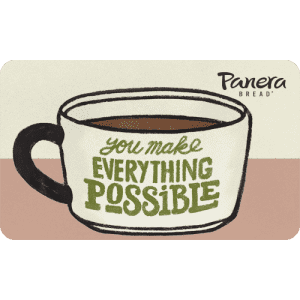 Panera Bread Gift Cards: 20% off