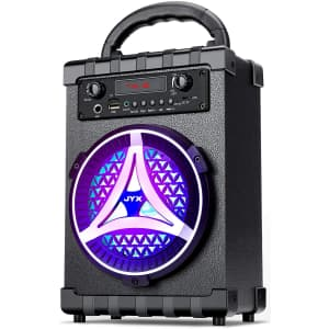 JYX Portable Bluetooth Speaker for $31