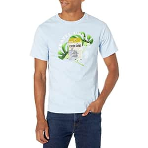 LRG Lifted Research Group Men's Graphic Design Logo T-Shirt, Powder Blues, M for $19