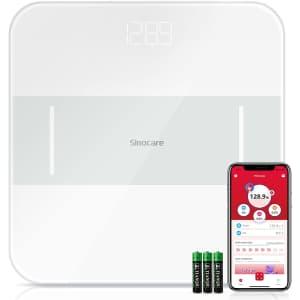 Sinocare Smart Digital Bathroom Scale for $13