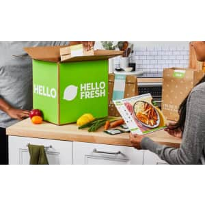 Hello Fresh Meal Kits at Groupon: Up to 50% off