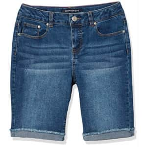 Calvin Klein Girls' Big Short, S20 Authentic Bermuda, 8 for $37