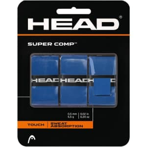 HEAD Super Comp Racquet Overgrip 3-Pack for $6